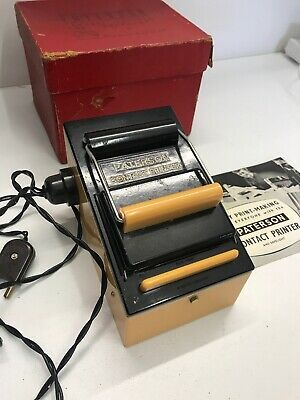 Vintage Paterson Contact Printer