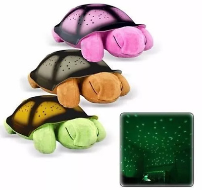 Turtle LED night light Sky Projection Musical Lamp Sleep Baby Kids Bedroom
