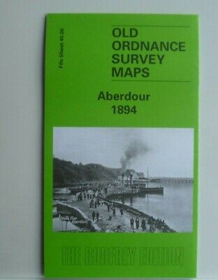 OLD ORDNANCE SURVEY MAPS ABERDOUR SCOTLAND 1894 Sheet 40.09 Godfrey Edition New