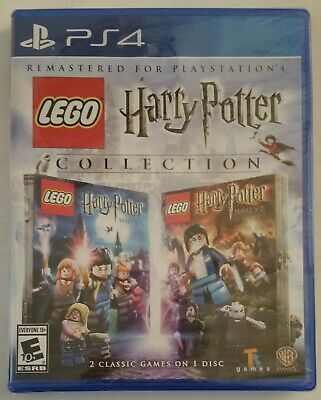 HARRY POTTER COLLECTION PS4 2016 Sony Playstation 4 Video Game NEW