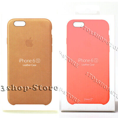 Genuine Original Apple Leather Hard Snap Cover Case For iPhone 6 / iPhone 6s