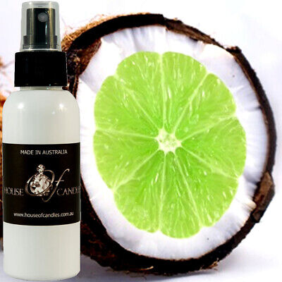 TAHITIAN COCONUT & LIME Perfume Body Spray Mist VEGAN & CRUELTY FREE