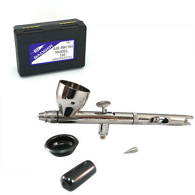 Badger 105 Patriot Dual Action Internal Mix Gravity Feed Airbrush