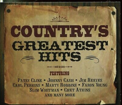 Country's Greatest Hits [Not Now 2CD] by Various Artists (CD, Feb-2008, 2...