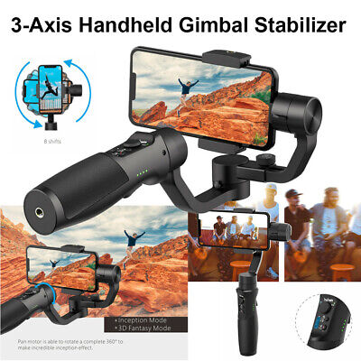 Visual Auto-tracking Isteady Mobile 3-Axis Handheld Smartphone Gimbal Stabilizer
