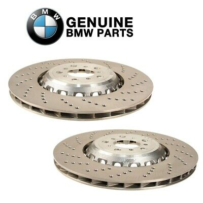 One New OE Supplier Disc Brake Rotor Front Left 34112284101 for BMW