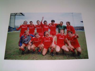 Liverpool Fc 1985-86 First Division Title Winning Team Photo Kenny Dalglish
