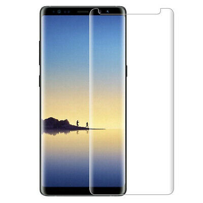 For Samsung Galaxy Note 8 Tempered Glass Screen Protector Case Friendly Clear