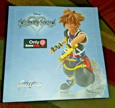 Disney Kingdom Hearts Gallery Gamestop Exclusive Sora Statue Diamond Select