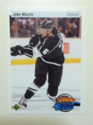 2010/11 Upper Deck RETRO YOUNG GUNS Jake Muzzin SP Toronto Maple Leafs #225