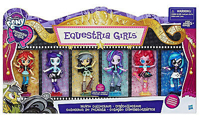 My Little Pony Movie Collection Equestria Girls Minis 6 Figures Pack Set Hasbro
