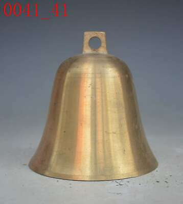 Chinese Buddhism Temple Brass Statue Bells