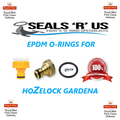 Hozelock Gardena Replacment O Rings EPDM Tap Seals 2,5,10,20,50,100 @ £3.50