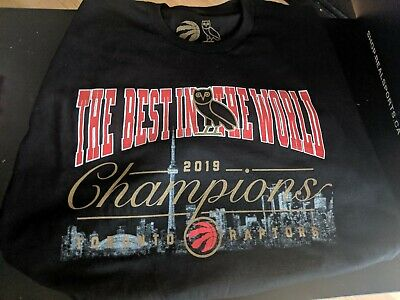 Toronto Raptors OVO Best In The World Championship T Shirts
