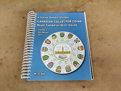 Charlton Standard Catalogue Canadian Collector Coins Vol 2 - 2019 9th Edition