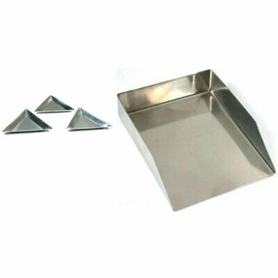 3 Triangular Shovel Scoop, Craft Shovel Scoop For Beads & Small Parts