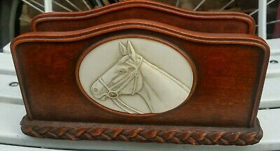 History Craft Series By Enesco, Horse Letter Rack