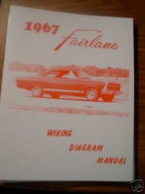 1967 Ford Fairlane Wiring Diagram Manual