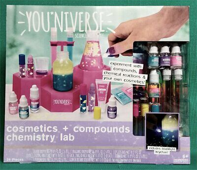 YOU*NIVERSE NEW Science Meets Style Cosmetics Compounds Chemistry Lab