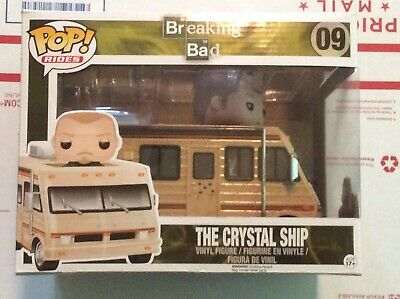 Breaking Bad Crystal Ship Camper With Jesse Pinkman - #9 Funko Pop! Rides - 2014