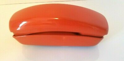 Vintage Western Electric Trimline Push-Button Orange Phone (Nice Phone)