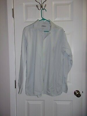 BURBERRY Baby Blue Button Down Long Sleeve Shirt/ 16 41