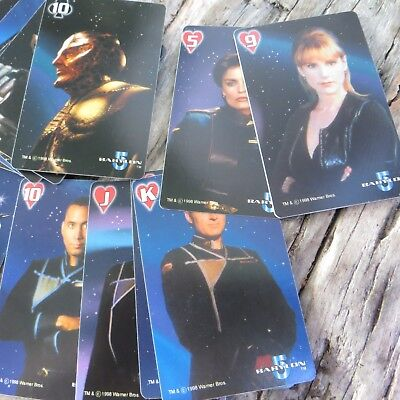 65 PACKS OF BABYLON 5 The Space Deck' Limited Edition Playing Card  1998