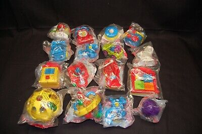 1995 - 2000  McDonalds Happy Meal Toy Fisher Price Under 3 Toys 16 pieces MIB