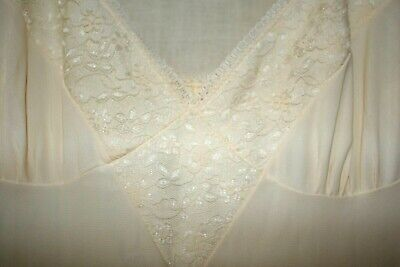 RETRO  LONG  PETTICOAT/NIGHTGOWN SIZE 12/85cm Australian made BALMORAL