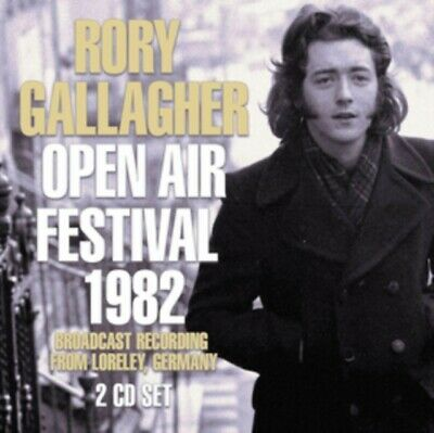 Rory Gallagher - Open Air Festival 1982 (2cd) NEW 2 x CD