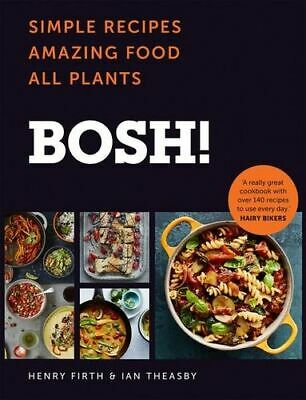 NEW Bosh! By Henry Firth Hardcover Free Shipping
