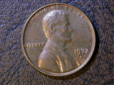 Lincoln Memorial Cent - 1972 D DDO #4 - Doubled Die