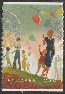 US 5403 State and County Fairs Ferris Wheel forever single (1 stamp) MNH 2019