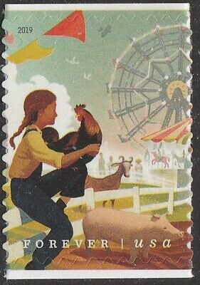 US 5402 State and County Fairs Child forever single (1 stamp) MNH 2019 Aug 1