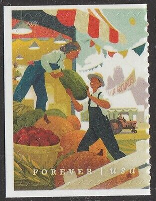 US 5401 State and County Fairs Farmers forever single (1 stamp) MNH 2019 Aug 1