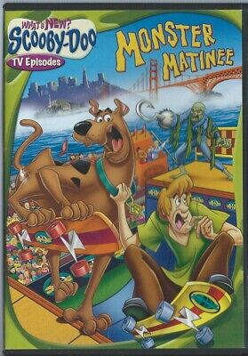 Whats New SCOOBY-DOO Monster Matinee TV Episodes DVD Movie