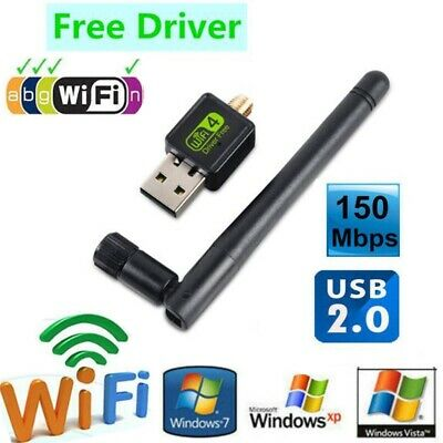 WIRELESS USB 1200MBPS WiFi Adapter Dongle Network LAN Card for PC