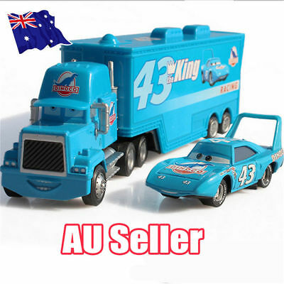 62eec3d664404 PIXAR CARS SET 3 Mack Truck 6Pcs Mini Alloy Diecast Cars Racers Kids ...