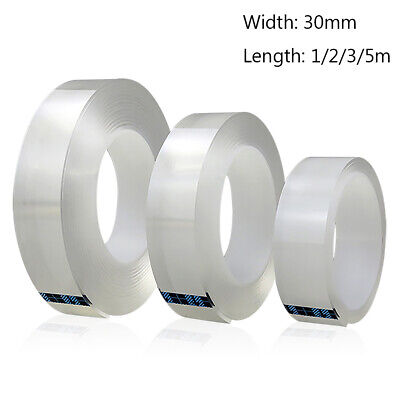 Double Sided Adhesive Tape High Strength Gel Transparent No Traces Tapes