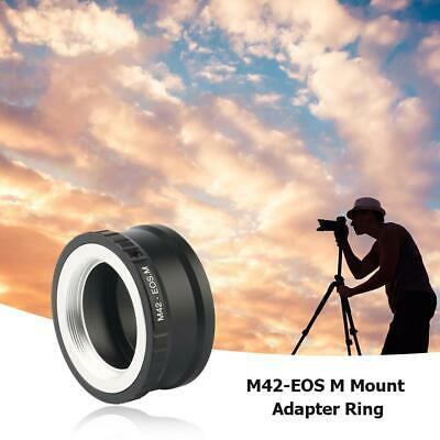 M42-EOS M Mount Adapter Ring for M42 Lens to Canon EF-M EOS M Mirroless Camera