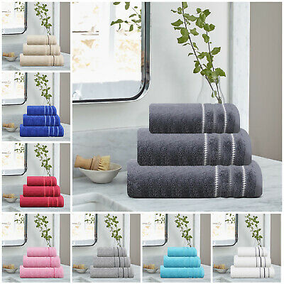 Premium Quality Egyptian Cotton Bath Hand Face Towels Bale and 600Gsm Bath Sheet