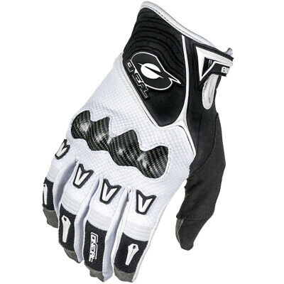 Oneal Butch Carbon Motocross Gloves - White