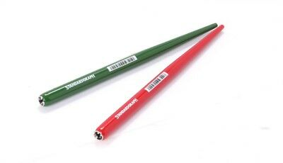Standardgraph Wooden Pen Holder, Set of 2 pen holders green and red