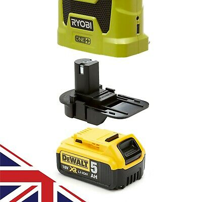 Badaptor Dewalt Battery Adapter to Ryobi 18v One+ Works with Ryobi 18v One+ Tool