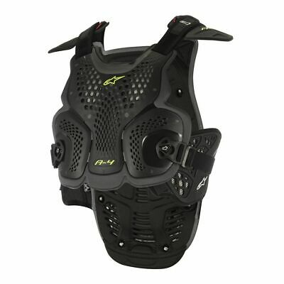 Alpinestars A4 Black Chest And Back Protector New RRP £149.99!!