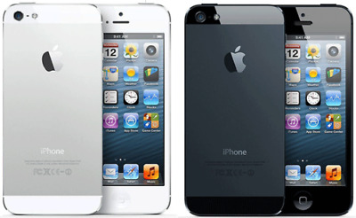 APPLE iPHONE 5 16GB  / 32GB/64GB - UNLOCKED BLACK/WHITE SMARTPHONE MOBILE