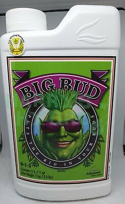 Advanced Nutrients Big Bud Flower Booster Additive Hydroponics  Choose size