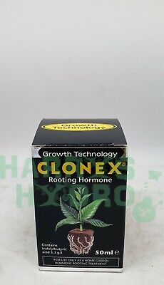 Growth Technology Clonex Rooting Hormone Gel - 50ml Perfect for cuttings