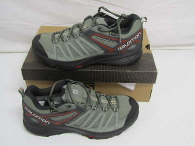 75c7fed59f SALOMON MEN'S 10 X Crest GTX WP Hiking Shoes Gray/Shadow 408298