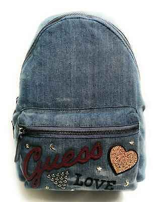 Guess Rucksack Backpack Kailey Jeans Denim